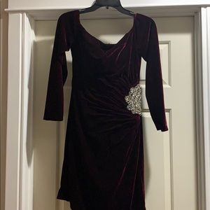 Velvet Cocktail Dress